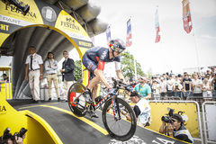 102nd Tour de France - Time Trial - First Stage Royalty Free Stock Photos