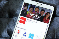 Nd tv app logo Royalty Free Stock Images
