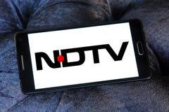 Nd tv logo Stock Photo