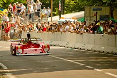 Red sport at Vernasca Silver Flag 2017. 22nd Vernasca Silver Flag 2017 Stock Photography