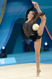 32nd World Championship in Rhythmic Gymnastics Stock Image