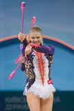 32nd World Championship in Rhythmic Gymnastics Stock Photos