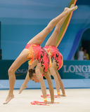 32nd World Championship in Rhythmic Gymnastics Royalty Free Stock Photography