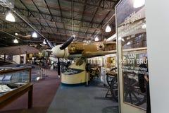 2nd World War Messerschmitt. Johannesburg, South Africa - October 30, 2014: 2nd World War Messerschmitt Bf 109 F2/2 Tropical. National Museum of Military History Royalty Free Stock Images
