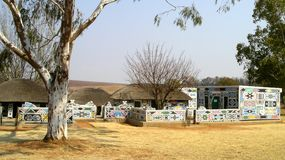 Ndebele by Arkivbilder