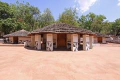 Ndebele Dorf Stockbilder