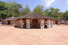 Ndebele Village. A few huts from a traditional Ndebele village in South Africa Stock Images