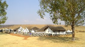 Ndebele village. Botshabelo Ndebele village in South Africa Royalty Free Stock Photo
