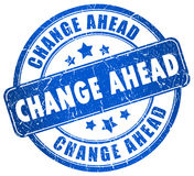 Änderung voran Lizenzfreie Stockbilder