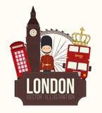 Ndesign de Lodon Imagem de Stock