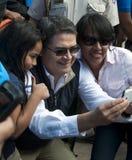 Ndez del ¡ di Juan Orlando HernÃ, presidente dell'Honduras Fotografia Stock