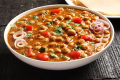 Free Ndian Cuisine-spicy Chick Peas Chola Masala Royalty Free Stock Photo - 82220875