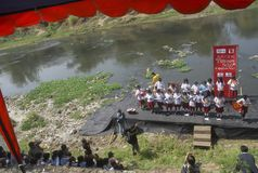 ÍNDICE DE LA FELICIDAD DE INDONESIA Foto de archivo libre de regalías