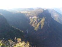 Ndios Coroados  каньона à стоковые изображения