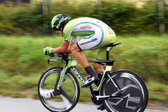 Ndividual time trial, polish championships in road cycling Royalty Free Stock Photography