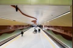 NDK地铁车站在索非亚 库存图片
