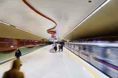 NDK地铁车站在索非亚 库存照片
