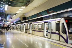 NDK metro station in Sofia Royalty Free Stock Image