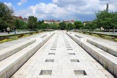 NDK-Park in Sofia, Bulgarije Stock Afbeelding