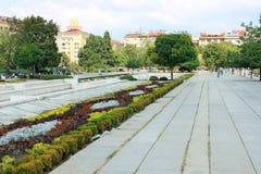 NDK-Park in Sofia, Bulgarije Royalty-vrije Stock Afbeelding