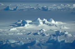 ändlös Antarktis Arkivfoton