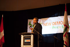 NDP Party Thomas Mulcair Stock Photo