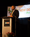 NDP Party Thomas Mulcair Stock Image
