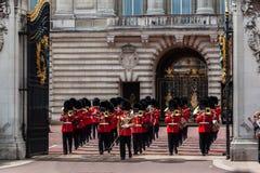 Ändra guarden London Fotografering för Bildbyråer