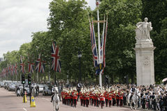 ändrande guard london Royaltyfri Fotografi