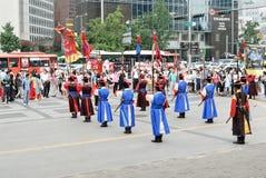 ändrande guards för ceremoni Royaltyfri Bild