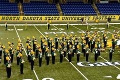 NDSU All Star die Band marcheren royalty-vrije stock afbeeldingen