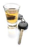 Ne buvez pas et ne pilotez pas Photographie stock libre de droits