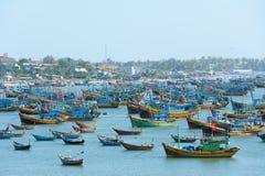 Barcos de pesca, Vietnam Fotos de Stock
