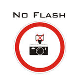 ne flashent aucune photo Image stock