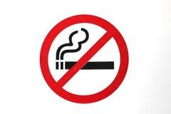 Ne fumez pas le graphisme de signe Photographie stock libre de droits