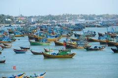 Рыбацкие лодки, Вьетнам Стоковое Изображение RF