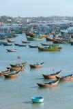 Рыбацкие лодки, Вьетнам Стоковые Фото