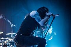 Ne Obliviscaris metal band live 2016 Ravenna, Italy Royalty Free Stock Images