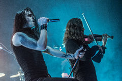 Ne Obliviscaris metal band live 2016 Ravenna, Italy Royalty Free Stock Photo