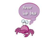 Ne regardez en arrière jamais Photos stock