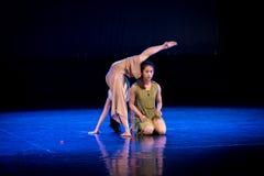 Ne voulez pas tomber 5-Act endormi 1 : Pays des merveilles Dormir-moderne de danse photographie stock libre de droits