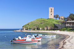 Halkidiki Sommerurlaubsort in Griechenland Lizenzfreies Stockbild