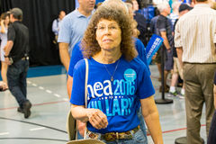 NEA 2016 Hillary Supporter Royalty Free Stock Images