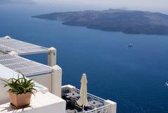 Nea Kameni, Santorini, Griechenland Lizenzfreies Stockbild