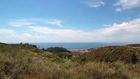 Nea Skioni village, Kassandra peninsula, Chalkidiki, Greece Royalty Free Stock Image