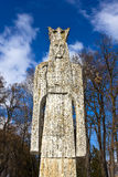 Neagoe Basarab sculpture - medieval romanian lord Royalty Free Stock Photo