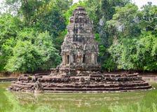 Neak Pean at Angkor Royalty Free Stock Photography