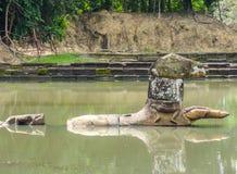 Neak Pean at Angkor Royalty Free Stock Images