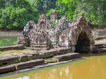 Neak Pean at Angkor Royalty Free Stock Image