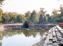 Neak Pean Prasat  temple in Angkor complex, Cambodia. Stock Photo